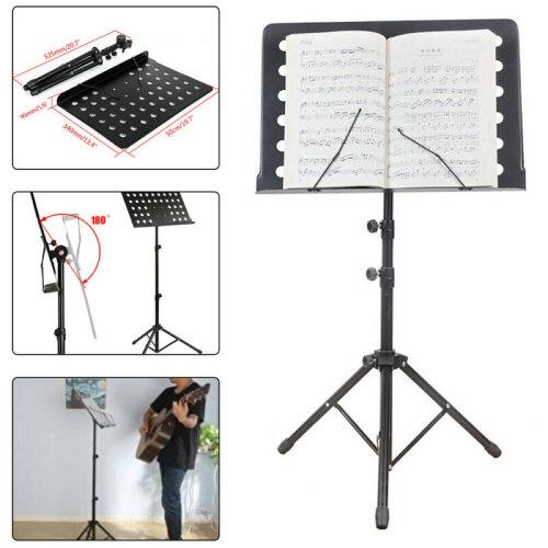Foldable Music Stand/Holder/ Base Tripod Heavy Duty Orchestral Condu