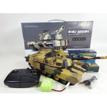 3816 1/24 USA M1A2 Abrams 2.4G BB IR Airsoft Radio control Battle Tank