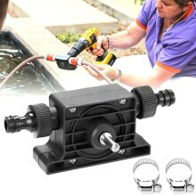 Hand Electric Drill Drive Self Priming Water Pump Pool Pond Small Transfer Pumps