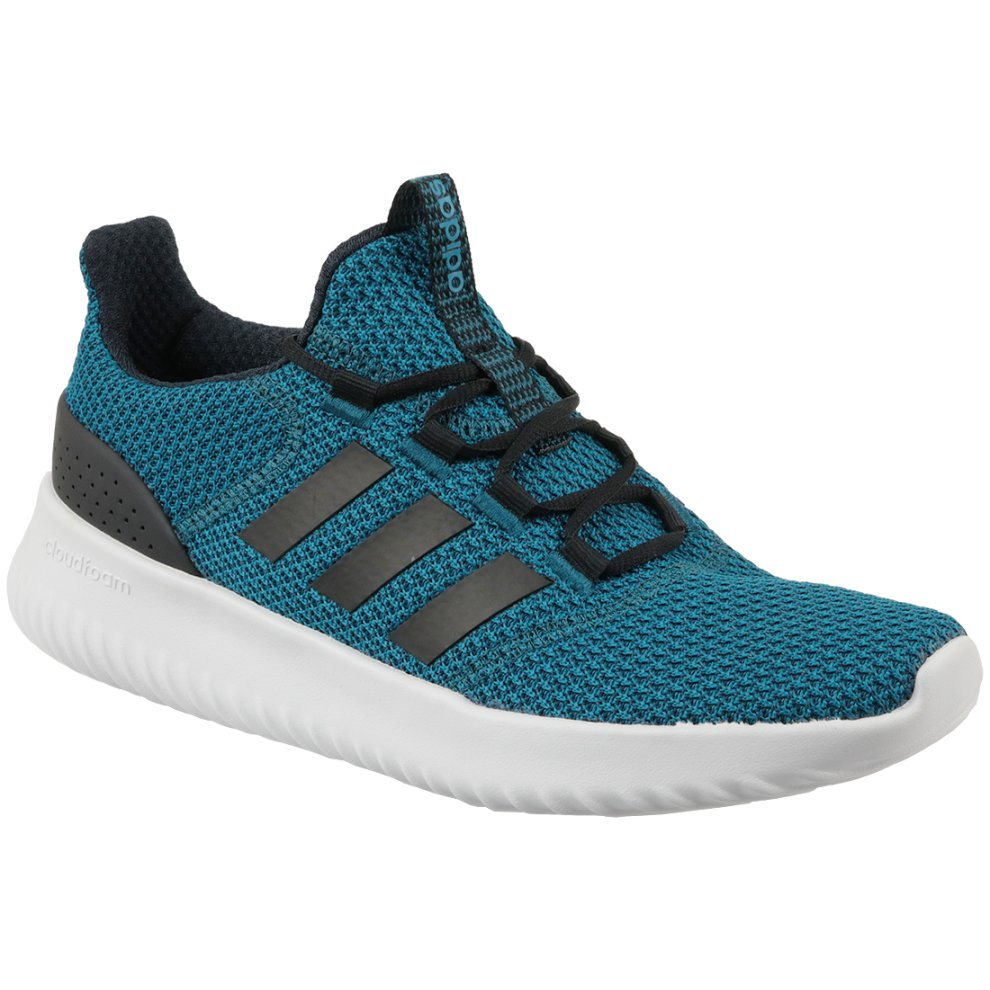 (8.5) Adidas Cloudfoam Ultimate BC0122 Mens Blue sports shoes