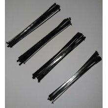 40 Scroll Fret Saw Pin End Blades Carbon Steel 10TPI 14TPI 21TPI 24TPI 130mm