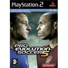 Pro Evolution Soccer 5 (PS2) - Used