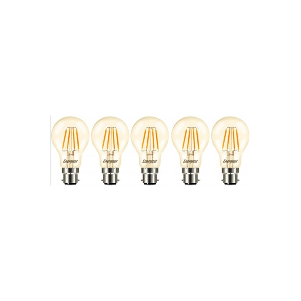 Energy Class A+ Energizer LED Filament GLS Vintage ES E27 Clear 4.5W = 40W