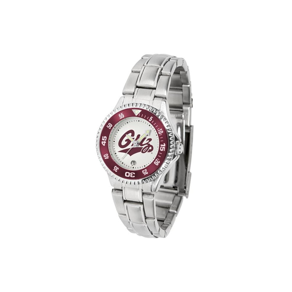 Suntime ST-CO3-MTG-COMPLM Montana Grizzlies-Competitor Ladies Steel Watch