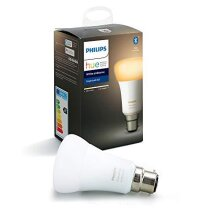 Philips Hue White Ambiance Single Smart Bulb LED [B22 Bayonet Cap] with Bluetooth, Works with Alexa and Google Assistant