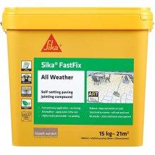 Sika Fastfix All Weather Joint Compound Dark Buff - 15kg [SKFFIXDKBF15]