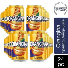 Orangina Sparkling Fruit Drink 6 x 330ml, Pack of 4