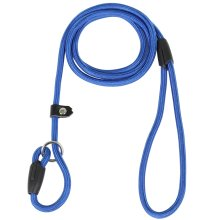 DIGIFLEX Blue Anti Slip Dog Lead Nylon and Cotton Training Durable Adjustable Collar