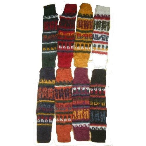 Soft Bolivian Alpaca Wool Woolen Warm Winter Woolly Legwarmers Leg Warmers 178