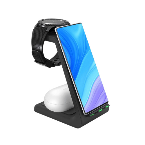 (Samsung Galaxy) 3 In 1 Qi Enabled Wireless Charging Station