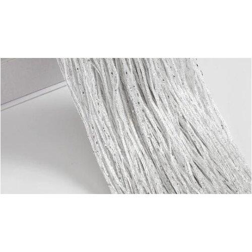 (White, 1x2m) Beads String Thread Curtains - Window Wall Panel Room Divider, Doorway, Wedding Decor