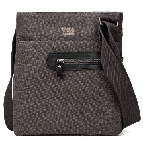 Troop London Classic Canvas Across Body Bag | Buy Across Bags Online | Canvas Across Body Bag | messenger bags for women