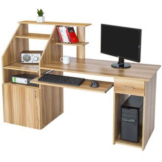 Computer desk core beech 163cm - beech