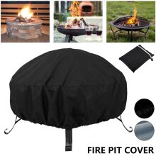 Outdoors Fire Pit Cover Waterproof Dustproof Cover
