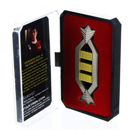 Star Trek Spock Captain Authentic Rank Pin