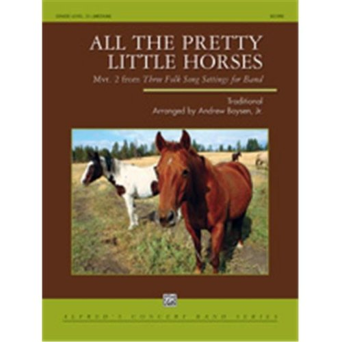Alfred 00-41964 ALL THE PRETTY LITTLE HORSES-CB