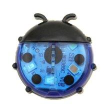 Creative Car Door Warning Lights Cute Ladybug Shape Flashing LED Car Door Open Safety Lamps Wireless Anti-collision Lights