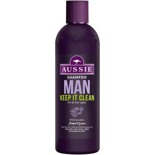 Aussie MAN Keep It Clean Shampoo For Men 300ML