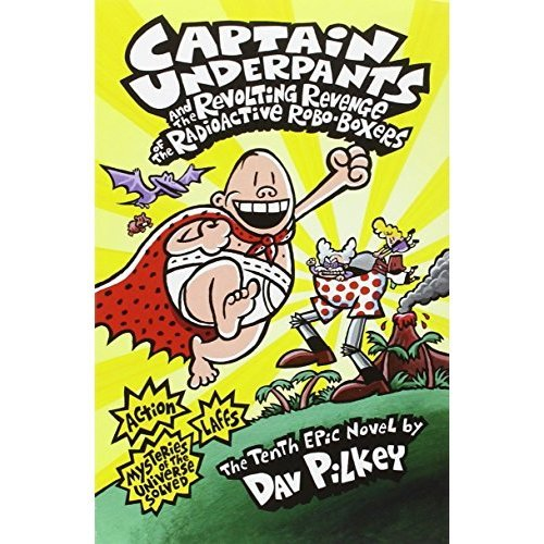 Captain Underpants: 10 Book Set