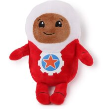 Go Jetters 1173 Soft Toy-Lars, Multi Plush, Red, White
