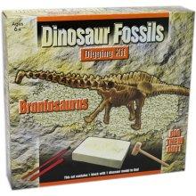 CAROUSEL Dig Out Dinosaur Skeleton Fossil Paleontology Archaeology Excavation Kit For Kids ~ Brontosaurus