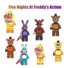 8Pcs/Set Five Nights At Freddy's FNAF Minifigures Building Toys