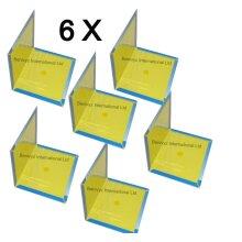 6 X Benivyz Household Mouse & Rat Sticky Glue Trap Boards - 6 BOARDS