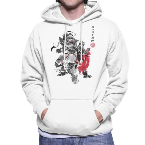 Brotherhood Japan Full Metal Alchemist Men's Hooded Sweatshirt