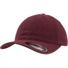 Flexfit by Yupoong Unisex Garment Washed Cotton Curved Peak Dad Hat Baseball Cap