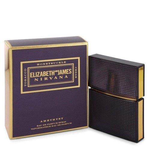Nirvana Amethyst by Elizabeth and James Eau De Parfum Spray (Unisex) 1 oz