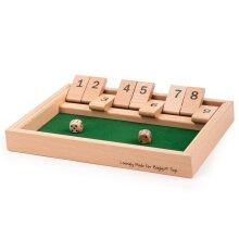 Bigjigs Toys Wooden Shut The Box Game