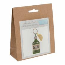 Felt Decoration Kit: Gin Bottle