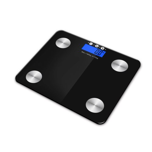 Kabalo Black 180kg Capacity Electronic Digital Multi-Function BODY FAT Composition Water Muscle