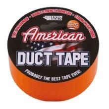 Everbuild USDUCT0G25 American Duct Tape Orange 50mm x 25 Metre