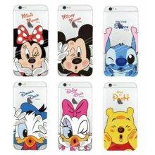 Disney Mickey Donald Minnie Ultra Thin Transparent iPhone / Samsung Galaxy Case