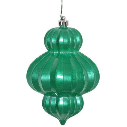 Seafoam Candy UV Drilled Lantern Ornament - 6 in. - 3 Per Bag