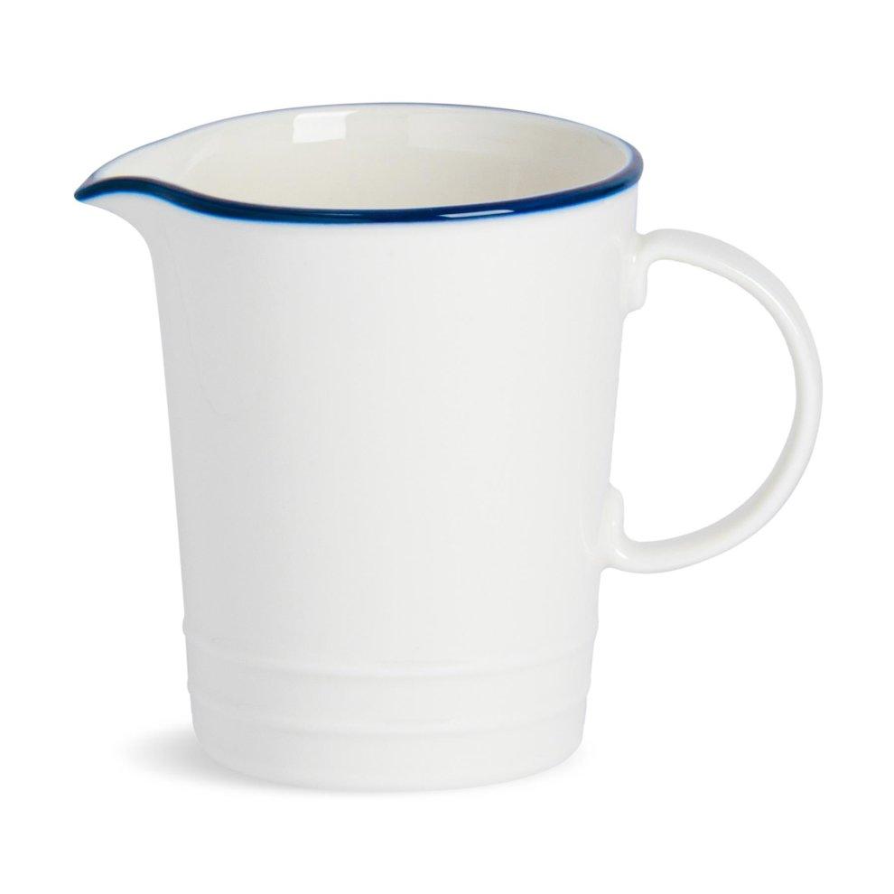 White 16 x 10.5 x 14 cm Price /& Kensington Madison Fine Porcelain 650 ml Milk Jug