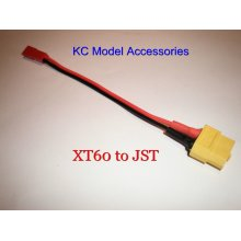XT60 Female to JST Female Charging Adapter Converter Lead