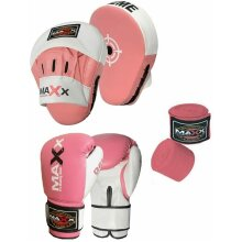 CURVED Focus pads Set with BOXING GLOVES   Jabs