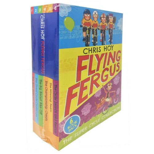 Chris Hoy 6 Books Collection Set Flying Fergus The Super Cycle  Series