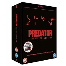 Predator 1 to 4 Blu-Ray [2019]