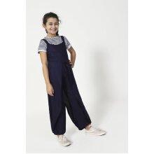 PUMPKIN Wide Leg Jumpsuit for Girls - Blue