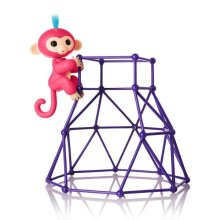 WowWee Fingerlings - Jungle Gym Playset with Exclusive Monkey Aimee