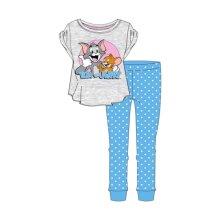 Women's Tom and Jerry Character Cuffed Pyjama Set