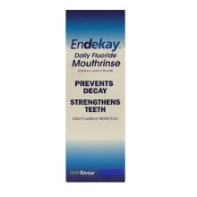 Endekay Daily Fluoride Mouthrinse - Mint Flavour 500ml