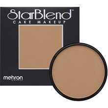 Mehron Makeup Starblend Cake 2 Oz Medium Dark Olive