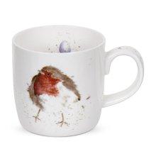 Wrendale by Royal Worcester Garden Friend Robin Single Mug
