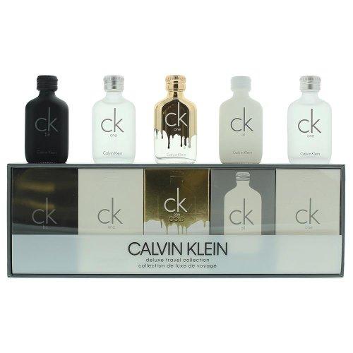 Calvin Klein Deluxe Travel Collection Unisex Gift Set