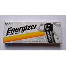 Energizer Industrial AAA Batteries Alkaline Long Life LR03