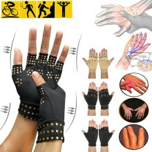 Magnetic Compression Gloves Anti Arthritis Health Therapy   Hand Pain.Relief Gloves